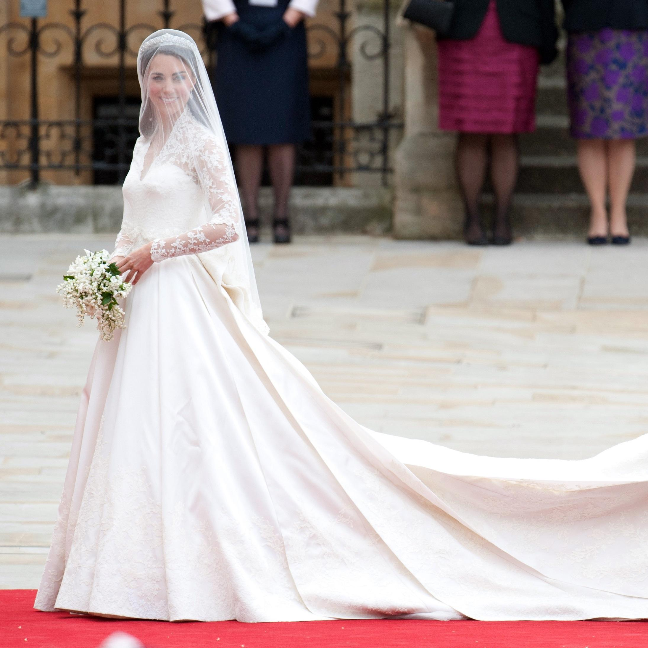 La robe de mariée de Kate Midleton