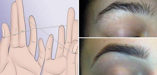 Comment tracer les sourcils sans épilation ?