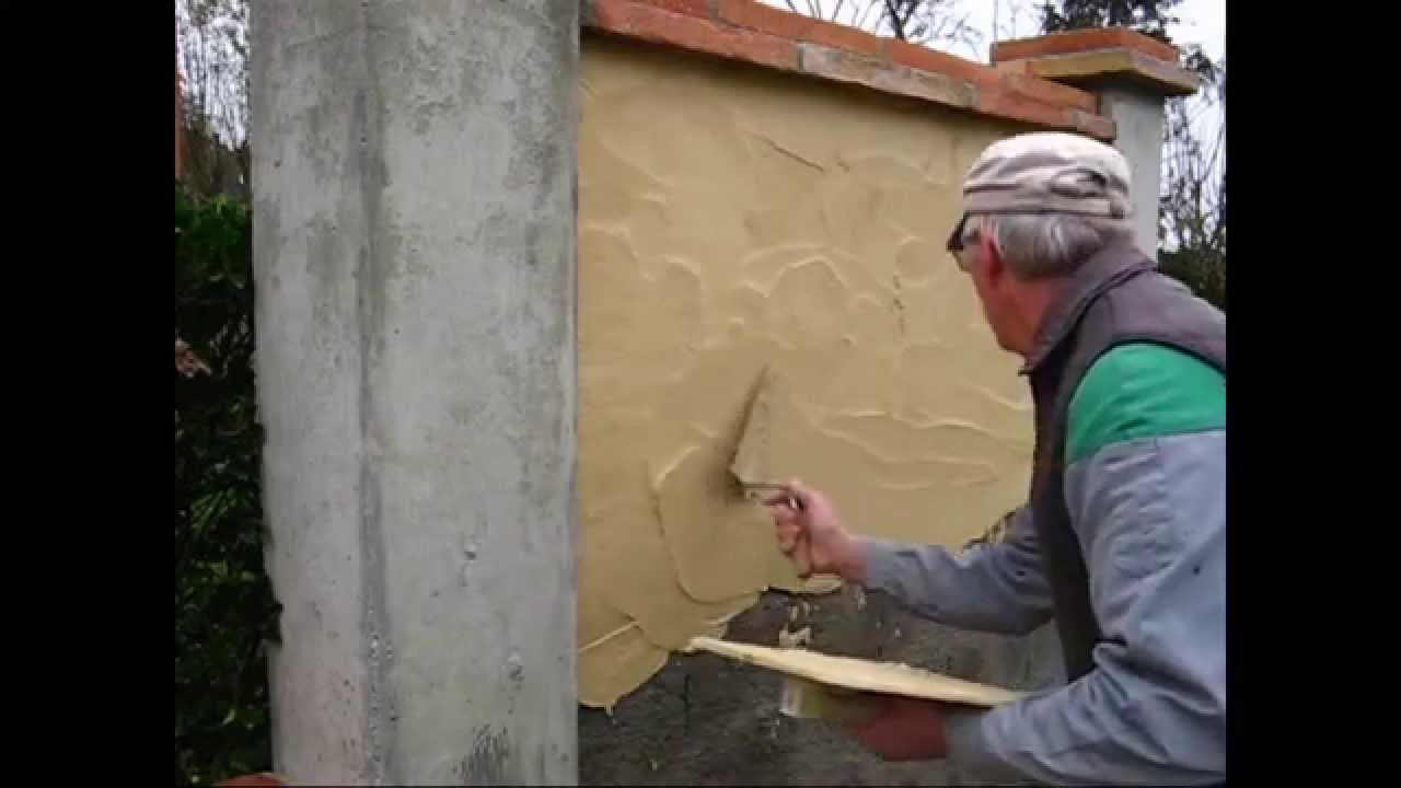 Enduire un mur au mortier comment faire ?