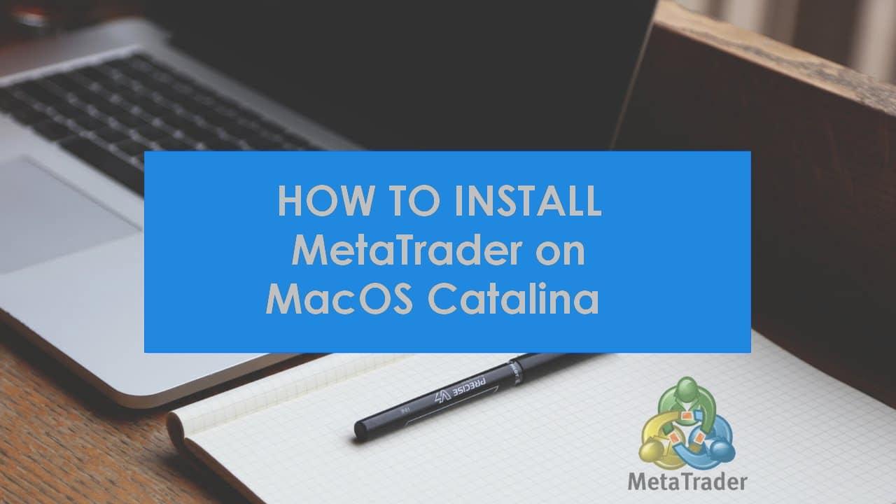Comment installer MetaTrader 5 sur mac?