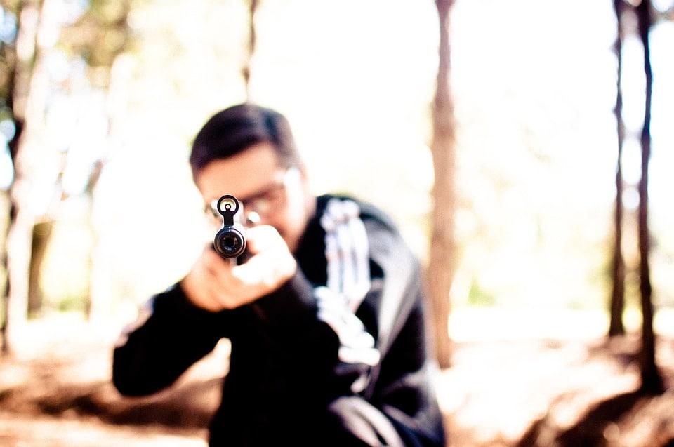 Carabine à plomb 20 joules : quelle portée?